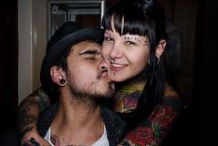 Zeta y Maiky (Live Photógrapher -Fotografía Documental Musical) Tags: tattoo nikon cobra colores fotos d200 sg zeta sombras tinta blancos fotografo negros maquinas agujas tatuajes piel pieles cobratattoo kikebarona