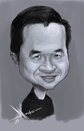 my caricature by caricaturist Mecho - original size