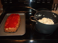 Meatloaf & Mashed