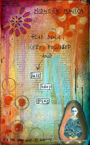 Art Journal - Just keep going