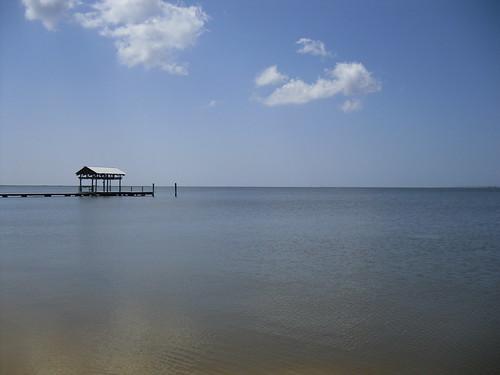 East Beach Pier and Boathouse