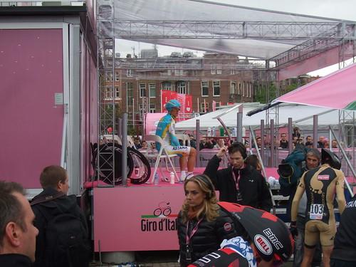 Vinokourov in Giro d'Italia