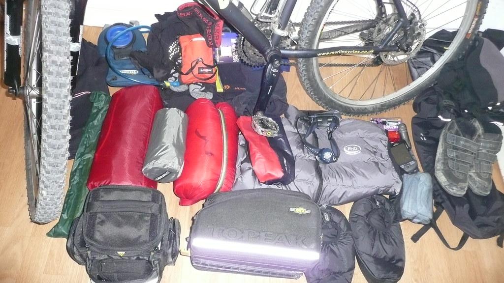 Ultralight camping kit