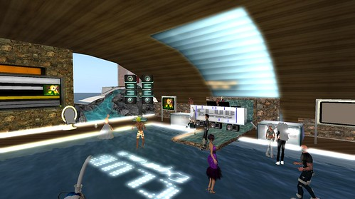 club experience party in second life
