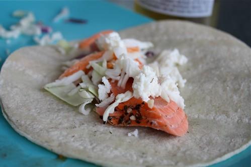 Healthy Salmon Tacos