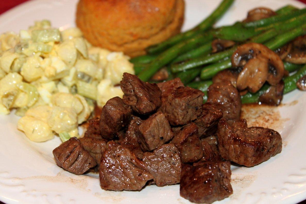 Steak Bites Recipe — Dishmaps