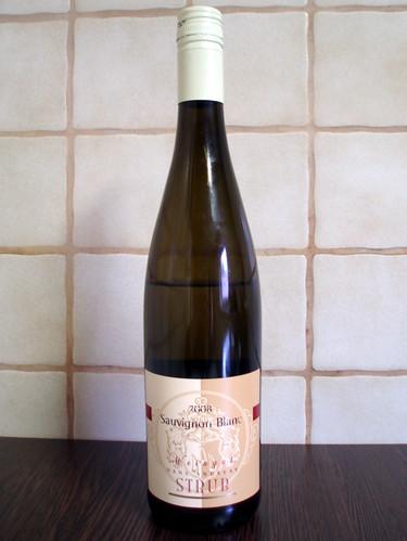 2008 Sauvignon Blanc Spätlese trocken Weingut Hans Andreas Strub Nierstein