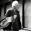 A life well travelled (Ian Brumpton) Tags: street portrait bw blackwhite noiretblanc candid londres biancoenero agranddayout londonstreetphotography ageisjustanumber lifeinslowmotion scattidistrada silvergentleman