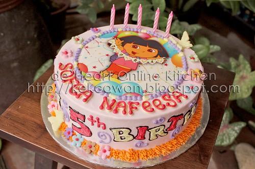 Dora Round Cake