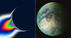 Encélado y Titán