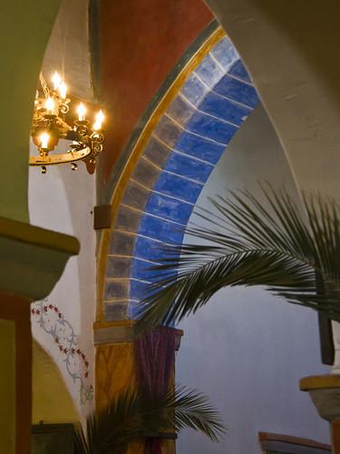 Mission San Juan Bautista arches