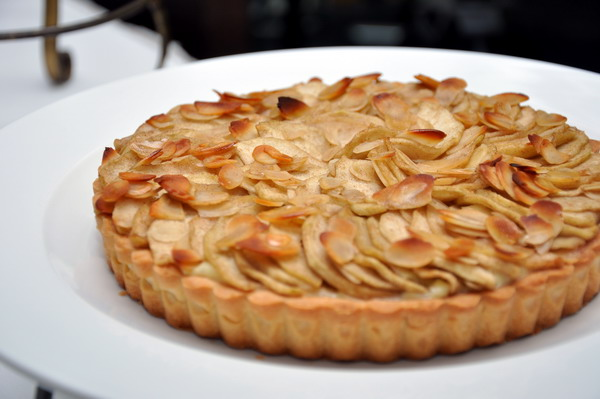 Laura Calder Apple Cream Tart