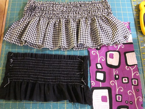 Reversible Skirt, in progress