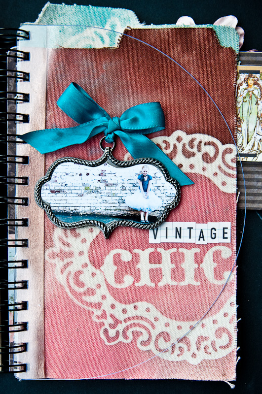 vintage chic - alleys and old lace album