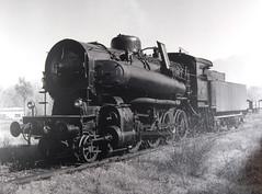 Potente locomotiva a vapore (Ferrovie dello Stato Italiane) Tags: locomotive biancoenero treni storia ferrovie ferroviedellostato