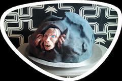 Gollum- Torte (Tortenwahn) Tags: motto kuchen torte torten motivtorte tortenwahn gollumtorte mottotorte mottotorten