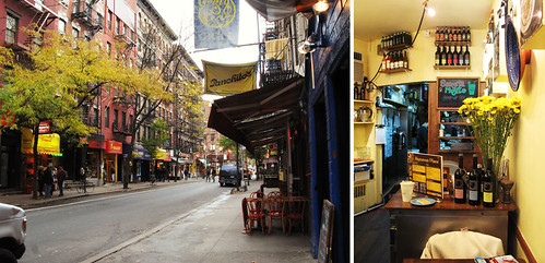 MacDougal Street and Hummus Place