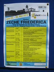 SchachtZeichen: Zeche Friederica (Bochum)