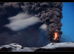 Shocked - Eyjafjallajkull Eruption (orvaratli) Tags: mountain snow hot ice landscape volcano lava iceland glacier ash strike volcanic thunder eruption magma katla icelandic ggjkull eyjafjallajkull eyjafjallajokull lightnigh hvolsvllur visipix arcticphoto rvaratli orvaratli
