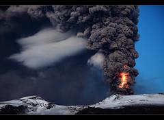 Shocked - Eyjafjallajökull Eruption (orvaratli) Tags: mountain snow hot ice landscape volcano lava iceland glacier ash strike volcanic thunder eruption magma katla icelandic gígjökull eyjafjallajökull eyjafjallajokull lightnigh hvolsvöllur visipix arcticphoto örvaratli orvaratli