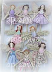 fadinhas voam para a loja Mercatto, Vitria, ES (AP.CAVALARI / ANA PAULA) Tags: bonecas fairy patchwork fadas dolss anjinhas anapaulacavalari apcavalari