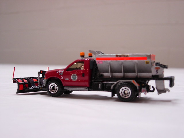 snow ford salt plow matchbox bonnell f550 spreader swaploader hooklift