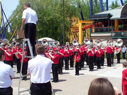 Cedar Point - Ohio State Spring Athletic Band