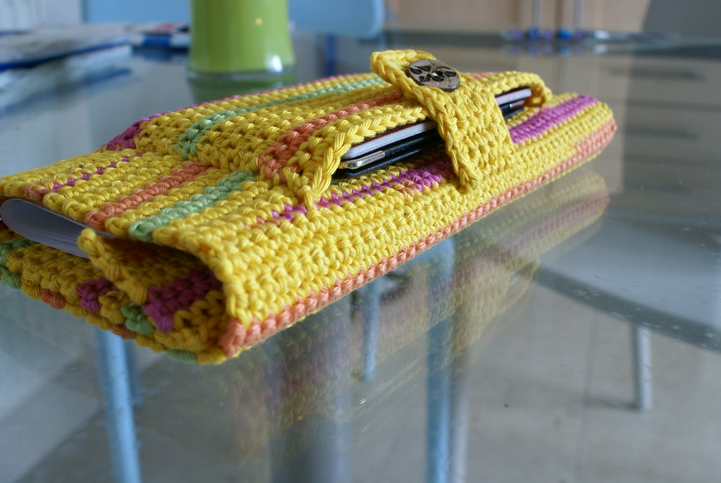 Crochet Document Holder