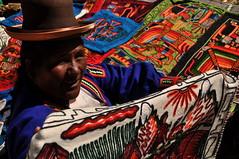 Uros, Puno, Peru. (André Cherri) Tags: family peru uros familia islands dance danza backpacking islas puno ilhas luademel amantani mochilao andrecherri backpackes
