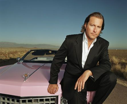 john corbett pink car