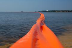 Oil Boom (Littoraria) Tags: flow alabama boom oil spill dogriver oilspill gulfcoast bpoilspill deepwaterhorizon gulfoilspill helenwoodpark