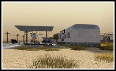 Pictures  taken along the Mother Road in Second Life (Peter Ellis) Tags: pictures life road mother taken second along
