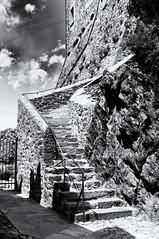 Sacra di San Michele - scale (Stefano Pertusati) Tags: church saint nikon san d sacra holy chiesa michele mura monte castello 90 statua hdr rocca altura interni pietro esterni chiusa d90 arcangelo