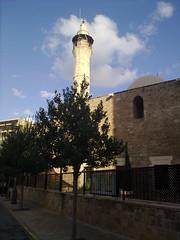 Al Omari Mosque (yas784) Tags: city lebanon church square downtown el mosque east middle orient martyrs beirut plage beyrouth liban   borj ain rafik hariri hamra moyen   raouche achrafieh   lbnan hammoud       mraisseh ghobeiri