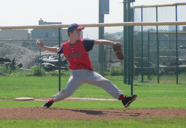 Andrew pitching