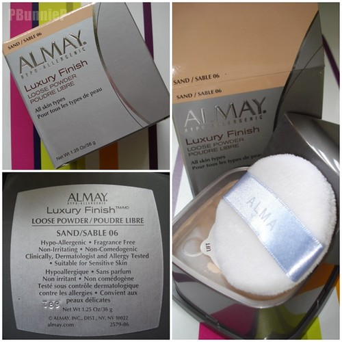 Almay Luxury Finish face powder