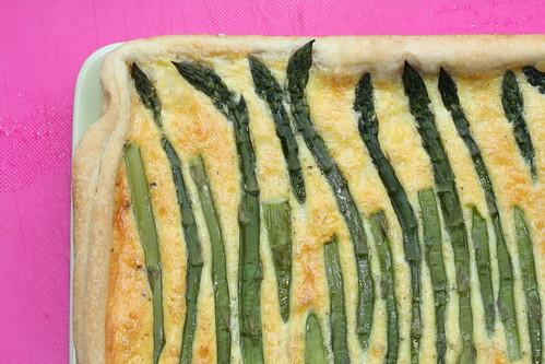 Asparagus tart / Sparglipirukas