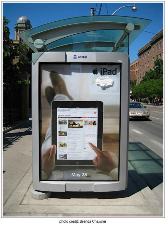 Feminine iPad Ad Spoof