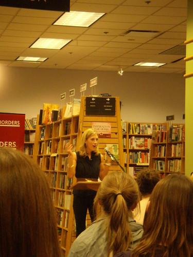 Emily Giffin book fan photo