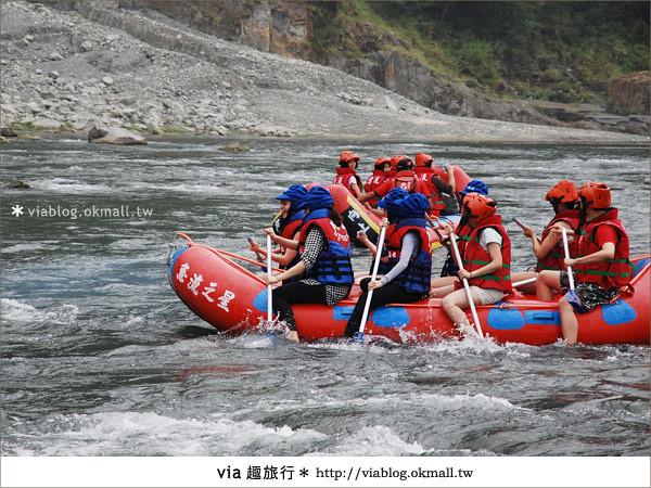 【花蓮旅遊】暑假玩花蓮最消暑的玩法~秀姑巒溪泛舟啦!7
