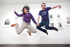 jump! (sgoralnick) Tags: show alexis friends jump jumping gallery chad tribute jumpology flybutter philippehalsman laurencemillergallery thirtyoneteeth