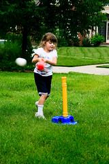 T-Ball practice (hubertk) Tags: playing game baseball kentucky treetops frontlawn hebron faye tball