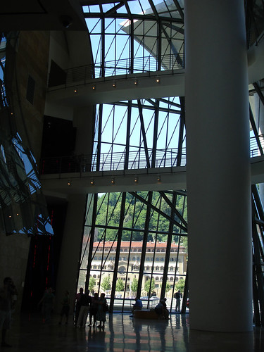 Inside the Guggenheim Bilbao