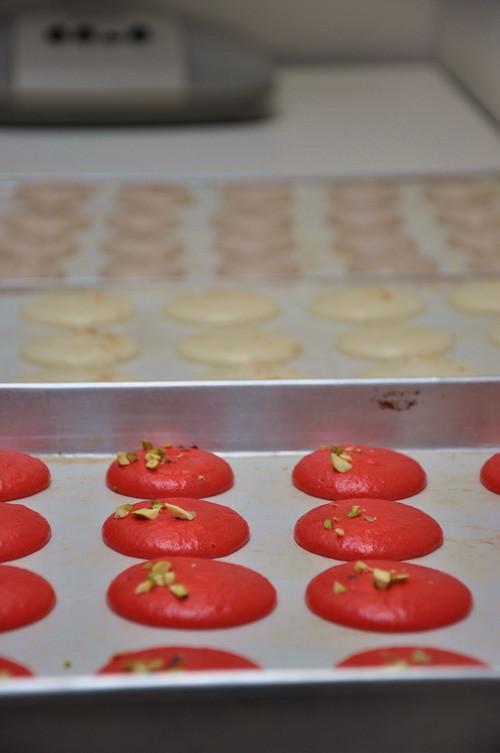 Macaron drying