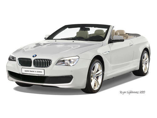 BMW 6 series rendering