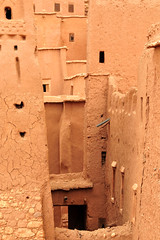At Ben Addou, close-up. (teocaramel) Tags: closeup morocco maroc kasbah mywinners atbenaddou