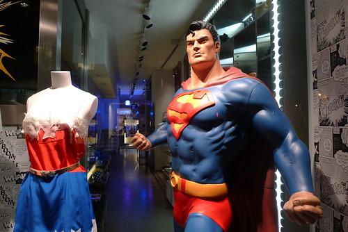 Vitrine Colette - DC Comics - Super héros - Paris, juin 2010
