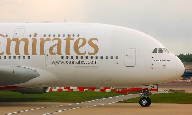 Emirates Airbus A380 A6-EDF