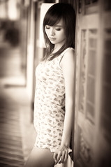 Weiting_2 (Raymond Wijaya) Tags: portrait monochrome model singapore poses lightroom weiting emeraldhill 85mmf14d orientalmodel sohwayne