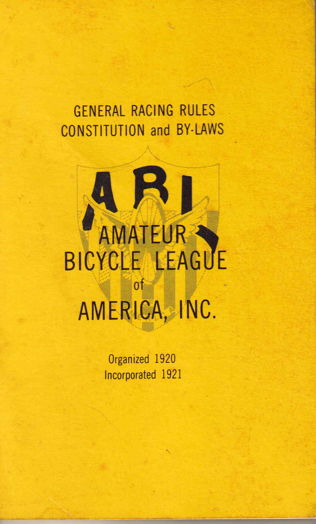 amateur bicycle league of america